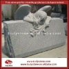 Stone cemetery carving
