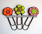 flower paper clip for child