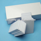printable blank white pvc card