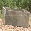 Nature rusty slate flowerpot/ garden flowerpot