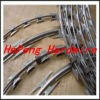PVC coated quality barbed wire fence (ISO9001)