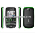 Qwerty celular phone with TV
