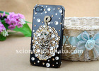 Hot selling crystal diamond case hard cover for iphone4