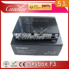 Newest original Skybox F3 Satellite receiver Dual-Core CPU 1080P Full HD DVB-S2 MPEG4 PVR CCCAM New version openbox Freeshipping