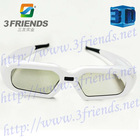 Active Shutter 3D Glasses for 3D TV(