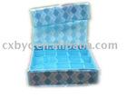 blue non-woven storage box