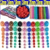 2012 Colorful Metal Beads For Jewelry(JF-0018)
