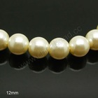 wholesale 12mm glass pearl beads cheap glass pearls for jewelry making