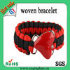 Hand Make Custom Woven Friendship Bracelets Hot sales