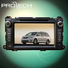 For TOYOTA /sienna09/10 car dvd player GPS navigation system Bluetooth Ipod HD LCD Win CE6.0 PIP