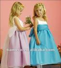 2012 Tiamero New Design Little Queen Vintage Kids Dresses for Weddings TB-021