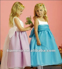 2012 Tiamero New Design Little Queen Vintage Kids Dresses for Weddings TB-021