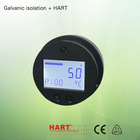 Black color field mounted temperature transmitter 4-20ma TMT272 with lcd display