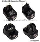 5V 500mA USB AC DC Adapter