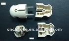 6801 2 pins Aluminum Plug