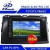 Toyota Prado special Car PC player /car gps ,2 Din Car PC player , windows XP system