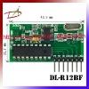 High sensivitity 2262 decode RF Receiver Module