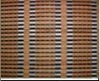 Used in room natural grain different printed bamboo curtain