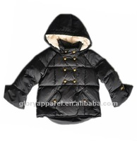 Girls brand down Jacket with hood