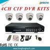 4CH H.264 DVR kits(D2104CHMIR23)