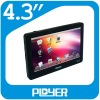 OEM 4.3 inch Touch Screen MP4 Player