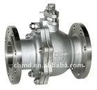 API 6D Two Pieces Cast Steel Floating Ball Valve