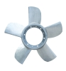 aluminium five impellers,bushing