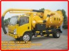 4*2 50,000 liters vacuum sewage suction truck