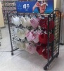 Metal Shelves Clothes Display Supermarket Shelf for Caps Metal Rack Shop System Cap Display Holder
