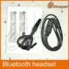 Black plastic wearing type bluetooth headset for Sony EX-01 play station3,LF-0427