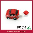 OEM car shape usb pen with plastic material