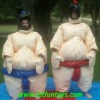 Inflatable Padded Wrestling Fighting Sumo Suit Costume