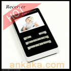 2.4G Handheld Wireless Audio Video Receiver and Baby Monitor