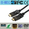Swivel HDMI cable,high speed 180 degree angled HDMI cable with blister