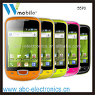 android 2.3 os china mobile phone capacitive touch screen