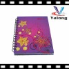 Wholesale spiral notebook for patch cover