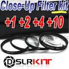 52mm 52 Macro Close-Up +1 +2 +4 +10 Close Up Filter Kit