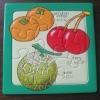 fruit paper puzzle/puzzle toy/puzzle mat
