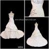 high qualityroyal blue and white wedding dresseswd9