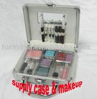 aluminum makeup train case and lipstick_lip stick etc
