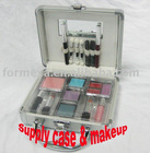 aluminum makeup train case and lipstick_lip stick etc