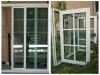 Aluminum doors and doors, frosted glass bathroom door,aluminum frame glass door