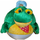 Toy Ball ,Plush Bouncing Ball With Frog Clothes