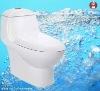 Ceramic One-piece Western Toilet
