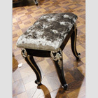 Elegant bedroom furniture antique small wooden stool YT-201