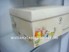 2012 new white card DIY cake box design