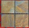 Natural Grey Rusty Slate Mosaic Tile
