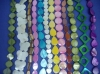 dyed mother of pearl (MOP) shell beads accessories