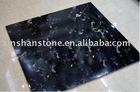 Black Portoro gold marble