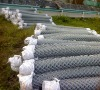 electro galvanized chain link fences